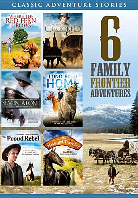 6 FILM FAMILY FRONTIER ADVENTURES BY WHITMORE,JAMES (DVD)